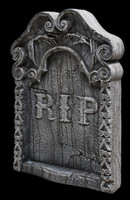"30"" Rest In Peace Graveyard Cemetery Halloween Tombstone Headstone Decor Prop"