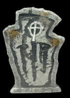 "22"" RIP Graveyard Cemetery Halloween Tombstone Headstone Decor Prop"
