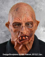Freaking Dead Head Old Zombie Super Soft Moving Mouth Halloween Costume Mask
