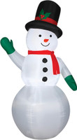 "83.9"" tall Lighted Snowman air blown airblown Inflatable Christmas Yard Decor Decoration"