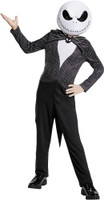 Jack Skellington Nightmare Before Christmas Suit Child Classic 4-6 Complete Christmas Costume