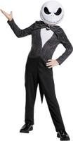 Jack Skellington Nightmare Before Christmas Suit Child Classic 4-6 Complete Christmas Costume