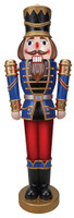 "68"" tall LED Lights change to Music Nutcracker Christmas Decor Decoration Prop"