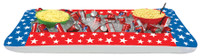 "28"" Inflatable Patriotic 4th of July Independence  Day Buffet Cooler Decor Decoration"