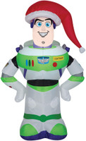 "42"" tall Lighted air blown airblown Buzz Lightyear Toy Story Inflatable Christmas Yard Decor Outdoor Decoration"