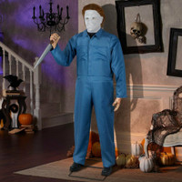Animated Life Size Michael Myers H2 Halloween Prop Decoration