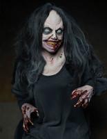 Life Size Animated Rancid Frightronics Rocking Groundbreaker Corpse Graveyard Cemetery Halloween Prop