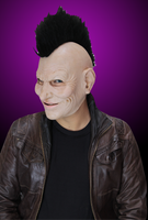 Crazy Jack Punk Rock Mohawk Halloween Costume Mask