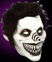 Crazy Pasta Laughing Jack Clown Halloween Costume Mask