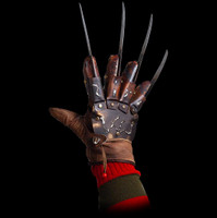 Freddy Krueger Deluxe Glove Replica Nightmare On Elm 4 Dream Master Street Halloween Costume Accessory