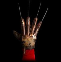 Freddy Krueger Deluxe Glove Replica Nightmare On Elm Street Halloween Costume Accessory