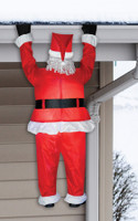 6.5 ft Lighted Hanging Santa Claus airblown Inflatable Christmas Yard Decor
