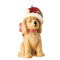 Bethany Lowe Santa Paws Ornament A Child's Christmas Decoration