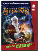 Animated Special Effects Night Before Christmas Projection TV DVD Decor
