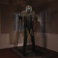 7' Life Size Animated Cellar Dweller Halloween Prop Decor
