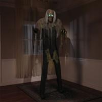 7' Life Size Animated Cellar Dwellar Dweller Halloween Prop Decor