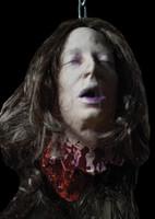 Life Size Severed Heather Cut-off Dead Head Halloween Prop
