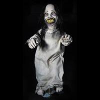 "36"" tall Kari Kreepy Kids Posable Creepy Toddler Halloween Prop"