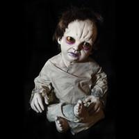 "36"" tall Kasey Kreepy Kids Posable Creepy Toddler Halloween Prop"