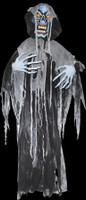 "72"" Life Size Hanging Evil Ghoul Halloween Prop Decoration"