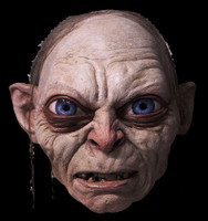 Gollum Smeagol Trahald Stoor Lord of the Rings Hobbit Halloween Mask