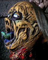 Life Size Zombie Beheaded Severed Head Puppet Halloween Prop Illusion