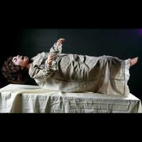 Life Size Animated Exorcism Girl Frightronics Groundbreaker Halloween Prop