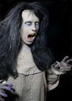 Life Size Static Nightfright Creepy Zombie Distortions Halloween Prop