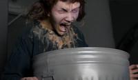 Life Size Animated Puke Vomit Vomiting Man Frightronic Halloween Prop Decor