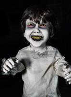 """36"""" tall Kenny Kreepy Kids Posable Creepy Toddler Halloween Prop"""
