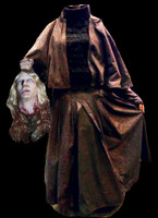 Headless Helga Severed Head Puppet Dress w/ Accessories Halloween Costume