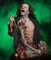 Life Size Static Zombie Killer Groundbreaker Halloween Prop Distortions Unlimited