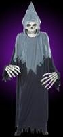 Adult Towering Terror Grim Reaper Skull Halloween Costume