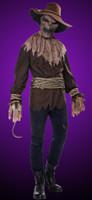 Men's Lg/Xl Adult Killer in the Cornfield Scarecrow Halloween Costume