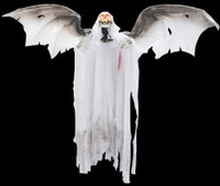 """Animated Flying Bloody Reaper 36"""" Halloween Prop Decoration"""