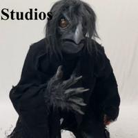 Ravenous Raven Bird Crow Black Bird Realistic Halloween Costume Kit