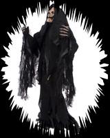 Grim Reaper Ghost of Christmas Skeleton Halloween Costume Kit