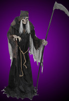 Life Size 6' Animated Lunging Reaper DigitEye Halloween Prop