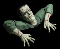 Life Size Frankenstein Monster Grave Walker Torso Halloween Prop Decoration