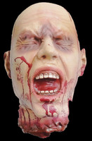 Very Realistic Life Size Severed Gory Gore Head Halloween Prop Decoration Decor