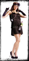 Adult Bootleg Baby Prohibition Flapper Roaring 20's 1920's Halloween Costume