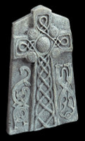 "24"" Celtic Cross Graveyard Cemetery Halloween Tombstone Headstone Decor Prop"