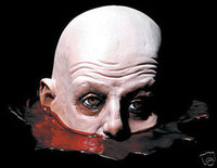 Life Size Table Severed Head Halloween Prop Decoration