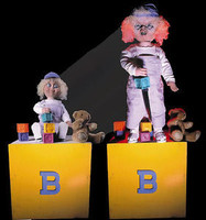 Animated Larger than Life Changing Possesed Haunted Doll Halloween Prop
