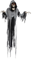 """72"""" Life Size Animated Hanging Reaper Halloween Prop props Decoration"""