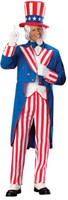 Uncle Sam Patriotic American Independence Day 4th of July Halloween Costume Suit