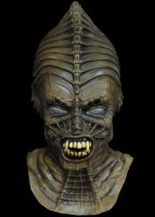 Syngenor Alien Android Cyborg Space Creature Halloween Costume Mask UFO gray