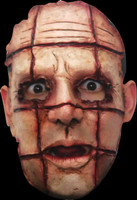Realistic Serial Killer #6 ADT Human Flesh Cut Sown Halloween Costume Face Mask
