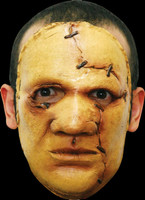 Realistic Serial Killer #5 ADT Human Flesh Cut Sown Halloween Costume Face Mask