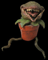 Man Eating Plant Venus Fly Trap Gore Potted Creature Puppet Halloween Prop Decor